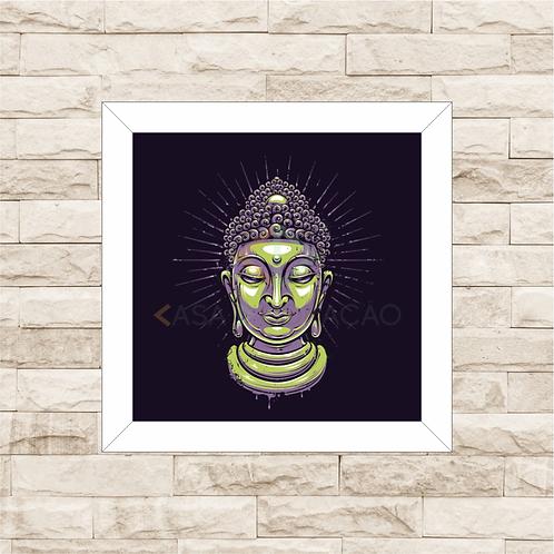 6300 - Quadro com moldura Buda