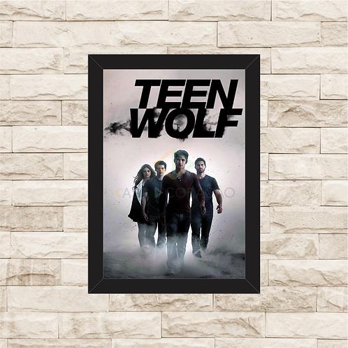 1804 - Quadro com moldura Teen Wolf
