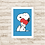 Thumbnail: 4165 - Quadro com moldura Snoopy