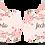 Thumbnail: 20064 - Aviso de porta - Floral Rosa