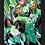 Thumbnail: 1104 - Quadro com moldura Lanterna Verde