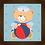 Thumbnail: 4107 - Quadro com moldura Ursinho Marinheiro