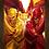 Thumbnail: 1007 - Quadro com moldura The Flash