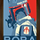 Thumbnail: 1777 - Quadro com moldura Star Wars - Boba Fett