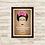 Thumbnail: 6110 - Quadro com moldura Frida Kahlo