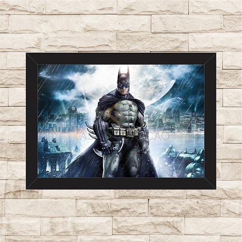 1196 - Quadro com moldura Batman