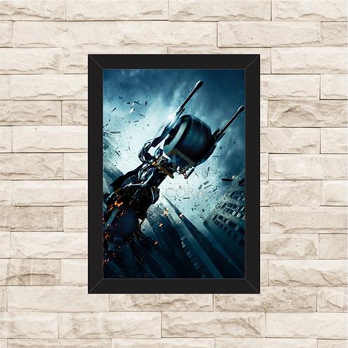 1396 - Quadro com moldura Batman