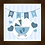 Thumbnail: 4014 - Quadro com moldura Baby - Azul