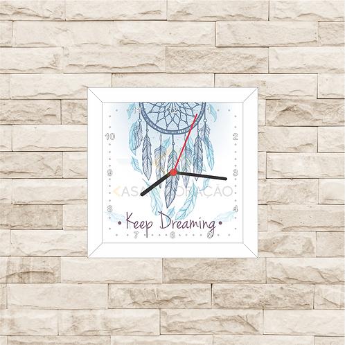 9009 - Relógio com moldura Filtro dos Sonhos
