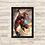 Thumbnail: 1055 - Quadro com moldura Homem de Ferro