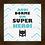 Thumbnail: 4112 - Quadro com moldura Aqui Dorme um Super Herói