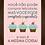 Thumbnail: 6046 - Quadro com moldura Cupcakes