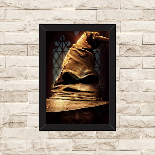 1814 - Quadro com moldura Harry Potter