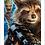 Thumbnail: 1794 - Quadro com moldura Guardiões da Galáxia - Groot