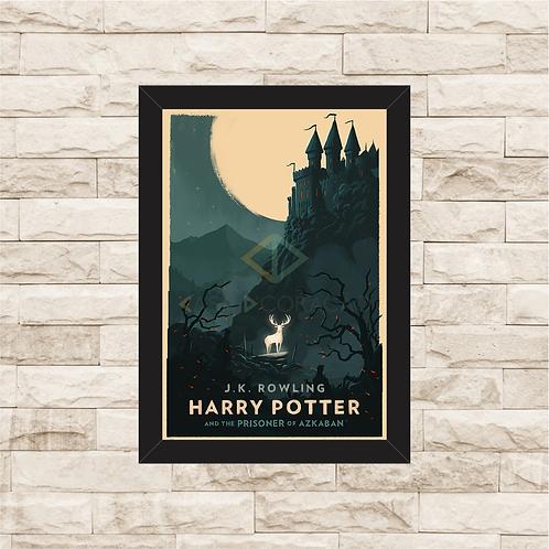 1173 - Quadro com moldura Harry Potter e o Prisioneiro de Azkaban
