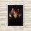 Thumbnail: 1443 - Quadro com moldura Crepúsculo - Amanhecer I