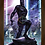 Thumbnail: 1183 - Quadro com moldura Pantera Negra