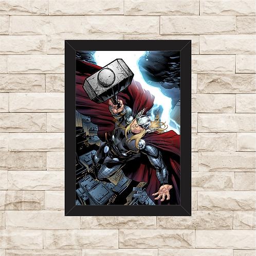 1186 - Quadro Decorativo Thor