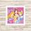 Thumbnail: 4071 - Quadro com moldura Princesas