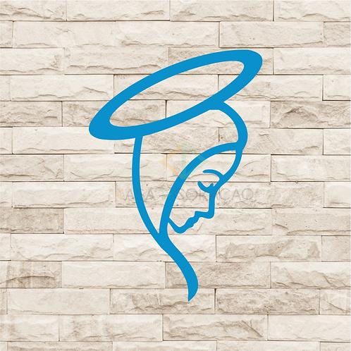 30025 - Placa Decorativa - Nossa Senhora