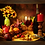 Thumbnail: 6235 - Quadro com moldura Frutas e Vinho
