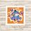 Thumbnail: 4081 - Quadro com moldura Ursinho Pooh - Bisonho
