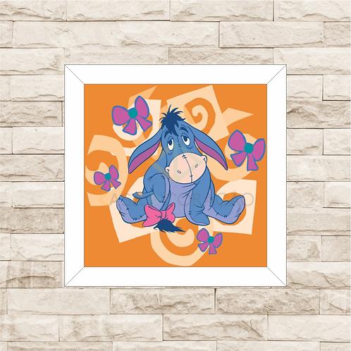 4081 - Quadro com moldura Ursinho Pooh - Bisonho