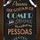 Thumbnail: 6104 - Quadro com moldura Melhores Pessoas