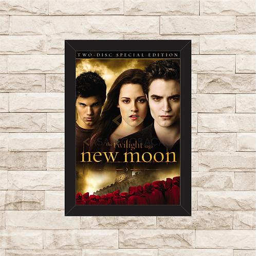 1325 - Quadro com moldura Crepúsculo - Lua Nova