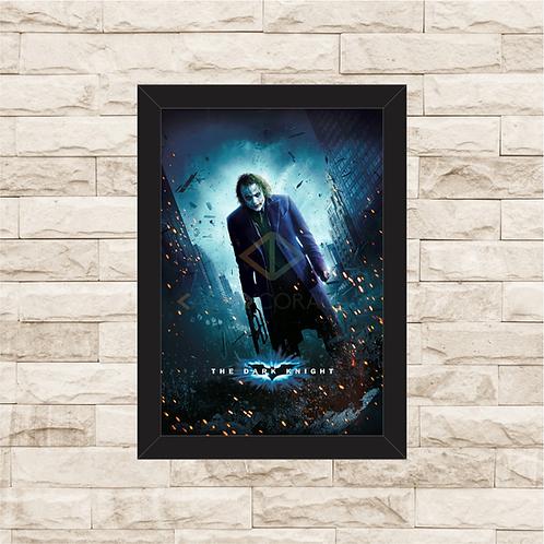 1399 - Quadro com moldura Batman The Dark Knight - Coringa