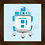 Thumbnail: 4127 - Quadro com moldura Baby R2-D2