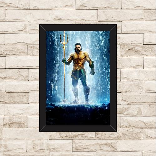 1296 - Quadro com moldura Aquaman
