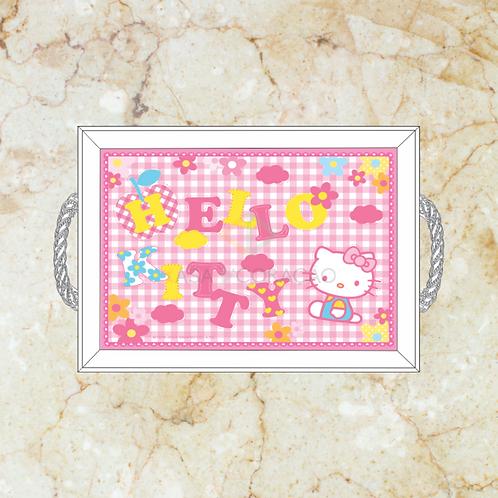 10057 - Bandeja Decorativa - Hello Kitty