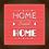 Thumbnail: 6001 - Quadro com moldura Home Sweet Home
