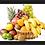 Thumbnail: 6245 - Quadro com moldura Cesta de Frutas