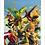 Thumbnail: 1117 - Quadro com moldura Heróis Marvel