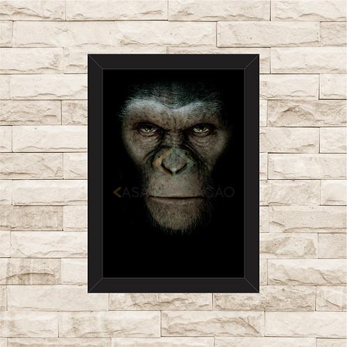 1598 - Quadro com moldura Planeta dos Macacos