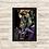 Thumbnail: 1193 - Quadro com moldura Rorschach vs Coringa