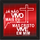 Thumbnail: 6163 - Quadro com moldura Cristo Vive em Mim