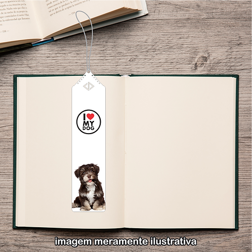 20106 - Marcador de Páginas - I Love My Dog - Lhasa Apso