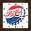 Thumbnail: 9053 - Relógio com moldura Pepsi