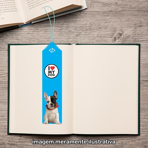 20103 - Marcador de Páginas - I Love My Dog - Buldogue Francês