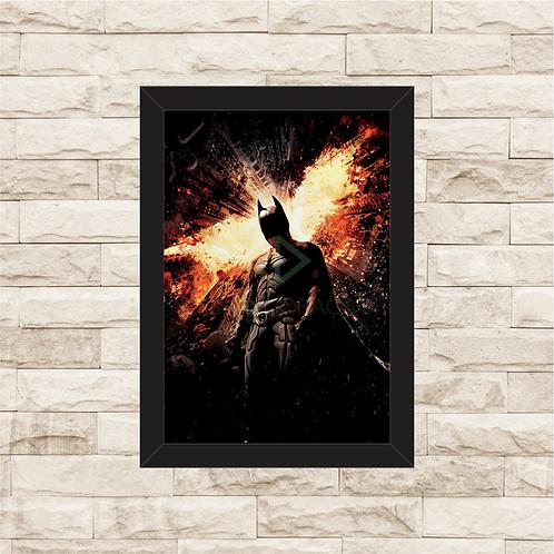 1401 - Quadro com moldura Batman