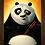 Thumbnail: 1677 - Quadro com moldura Kung Fu Panda