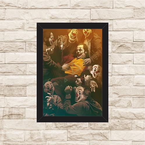1861 - Quadro com moldura Joker - Coringa