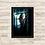 Thumbnail: 1435 - Quadro com moldura Harry Potter - Hermione e Rony