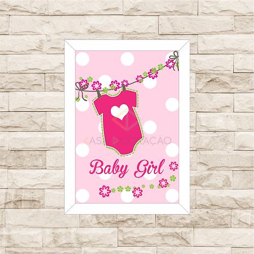 4012 - Quadro Decorativo Baby Girl