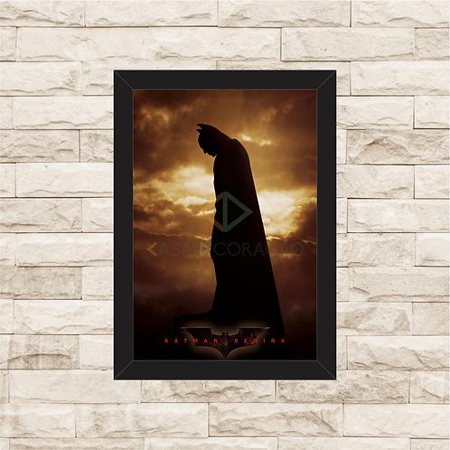 1394 - Quadro com moldura Batman Begins