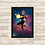 Thumbnail: 1155 - Quadro com moldura Capitã Marvel