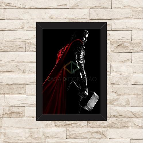 1378 - Quadro com moldura Thor